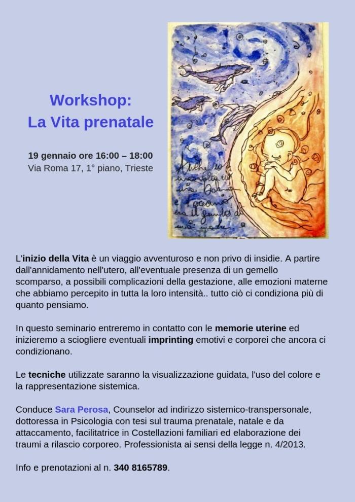 workshop prenatale